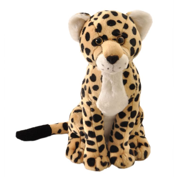 Cheetah Wild Onez 12 inch - Stuffed Animal by The Petting Zoo (415435)