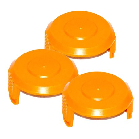 Worx (3 Pack) 50006531 Cordless Trimmer WA6531 Spool Cap Cover # 50006531-3PK