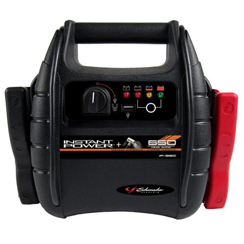 Schumacher Electric IP95C Schumacher 9-ah 650 Peak Amps Portable Power W/air Compressor