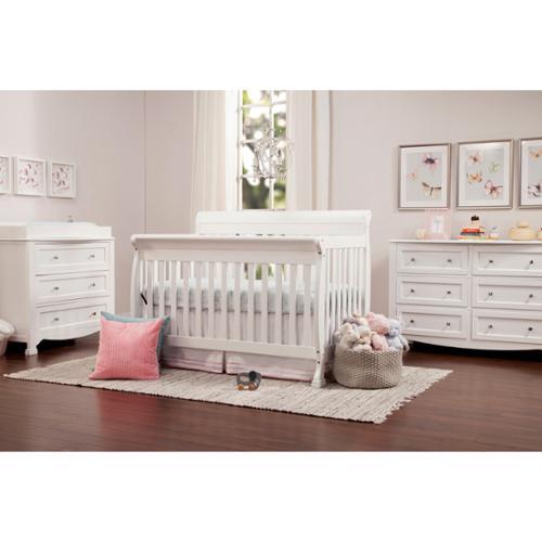 DaVinci Kalani 4-in-1 Crib with Toddler Rail Honey Oak