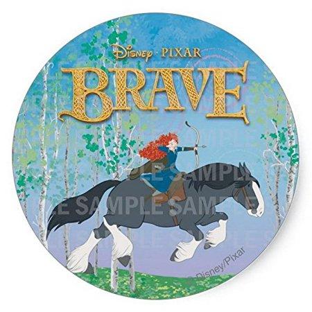Brave Merida Angus Disney Birthday Edible Image Photo 8