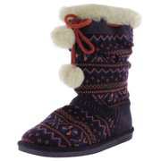 Girls Donner Knit Boot Shoe