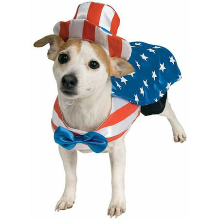 Uncle Sam Pet Halloween Costume - Sam And Cat Halloween Full