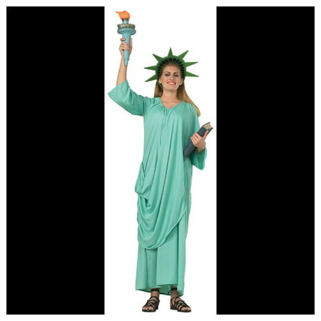 Statue Of Liberty Adult Halloween Costume (Catholic/christian Origin Of Halloween)