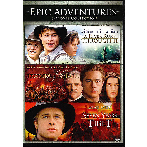 Epic Adventures: 3-Movie Collection - A River Runs Through It / Legends Of The Fall / Seven Years In Tibet (Widescreen)