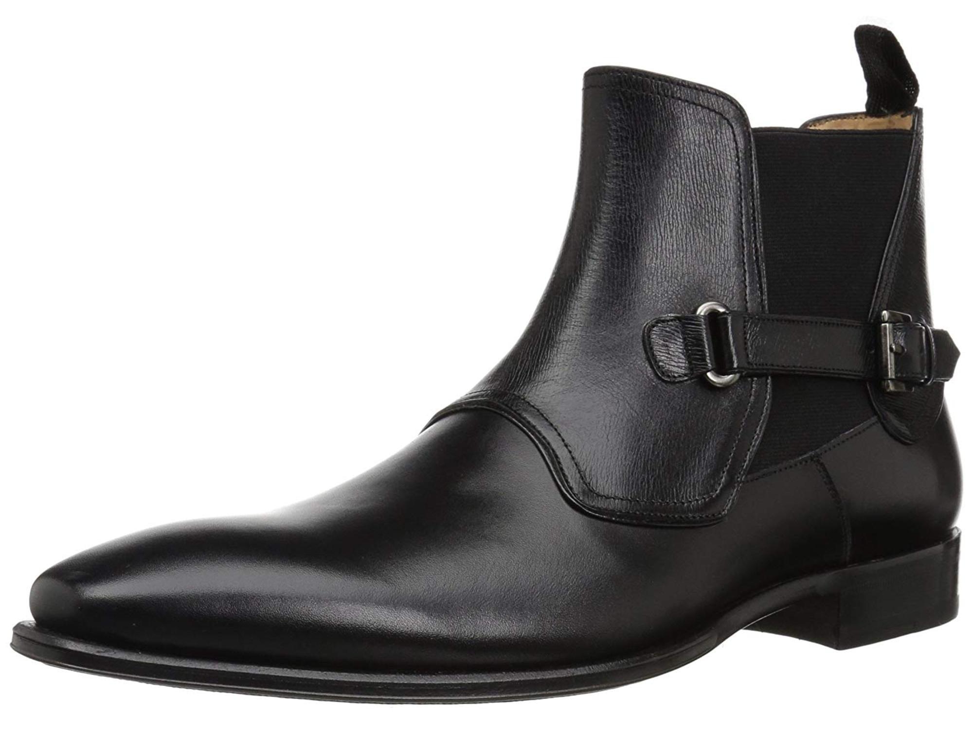 Mezlan Men's Montilla Chelsea Boot, Black, Size 11.0 by Mezlan