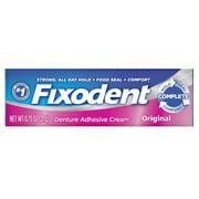 Fixodent Complete Original Denture Adhesive Cream, 0.75 oz