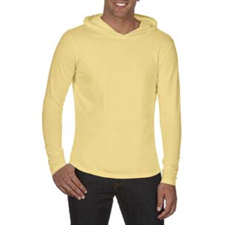- Comfort Colors Adult Heavyweight RS Long-Sleeve Hooded T-Shirt