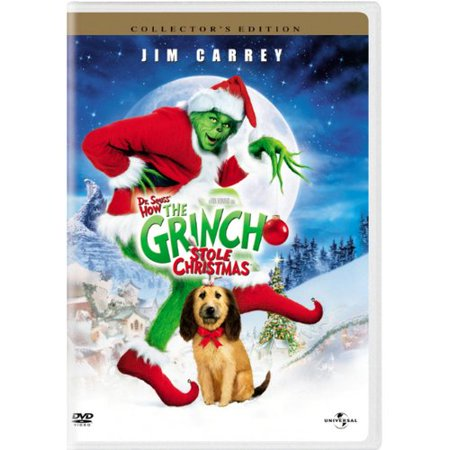 Universal Studios Dr. Seuss' How The Grinch Stole Christmas DVD (Costumes For The Grinch Who Stole Christmas)