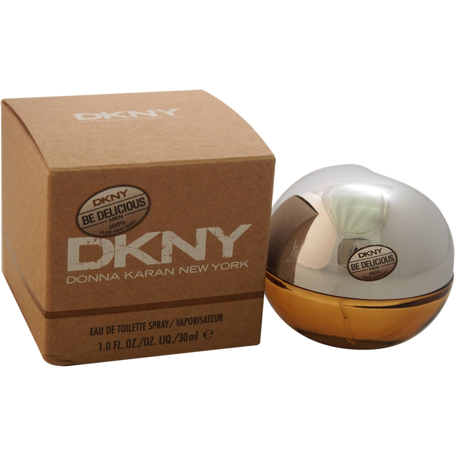Donna Karan Be Delicious EDT Spray for Men, 1 oz