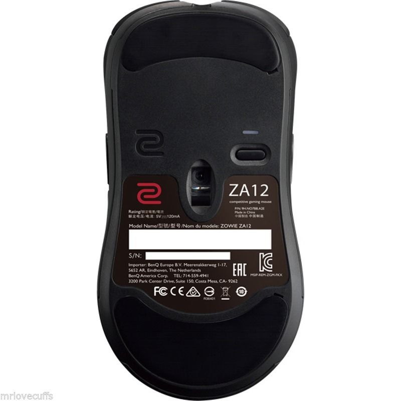 ZA12 BLACK E-sports Ergonomic Optical Gaming Mouse (SPECIAL EDITION) For E-sport PC Computer Gaming