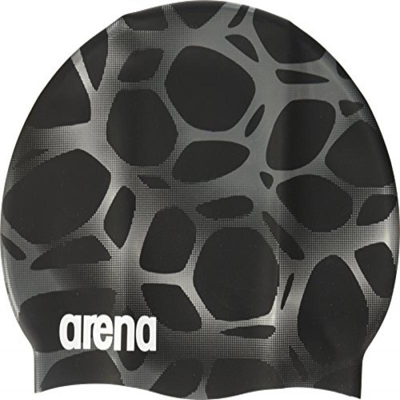 Arena Polycarbonite Printed Cap, Black/Multi