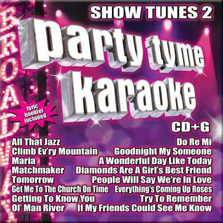 - Party Tyme Karaoke: Show Tunes, Vol. 2 (CD)