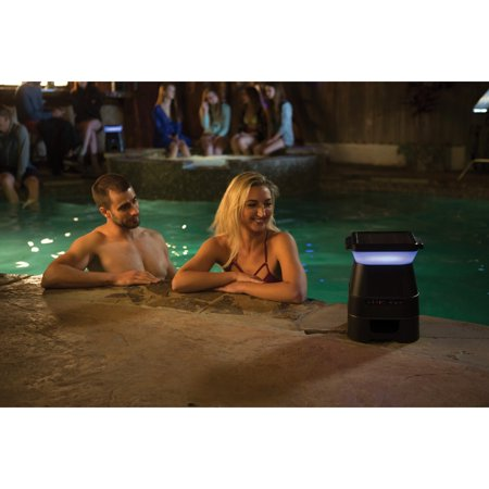 Monster (MNSOL-BLK) MNSOL-BLK SOLARA Solar-Powered Indoor/Outdoor Bluetooth Speaker