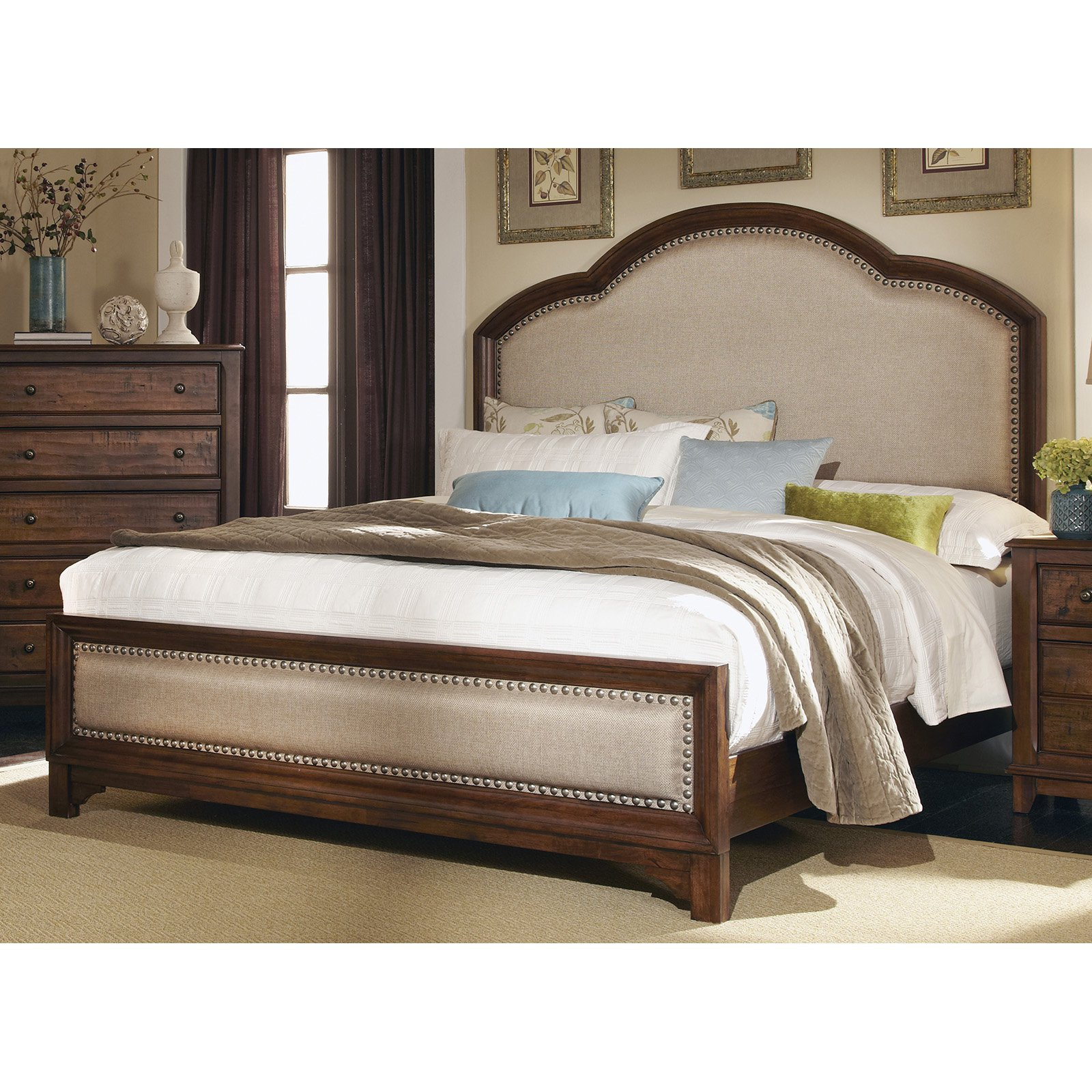 Coaster Furniture Laughton Upholstered Bed