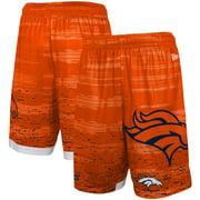 Denver Broncos New Era Training Daze Shorts - Orange
