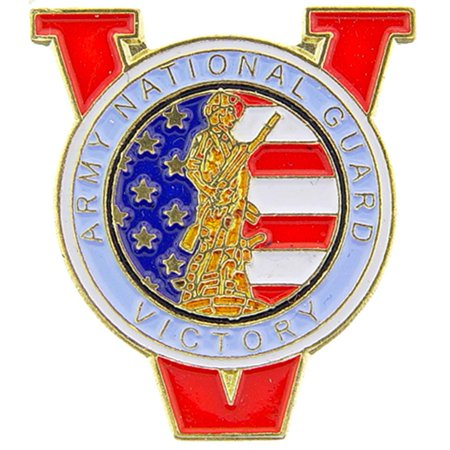 U.S. Army National Guard Victory Pin 1