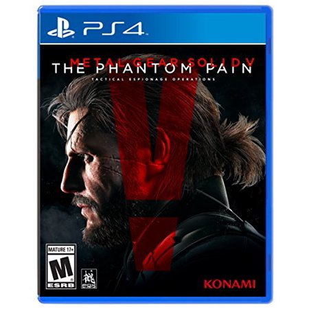 NEW AND SEALED Metal Gear Solid V The Phantom Pain - PlayStation 4