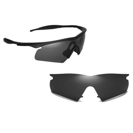 Frame Hybrid Replacement Lenses (M Frame Hybrid Replacement Lenses by SEEK OPTICS to fit OAKLEY)