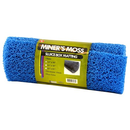 Blue Miners Moss Sluice Box Matting 12 Quot X36 Quot 10 Mm Thick