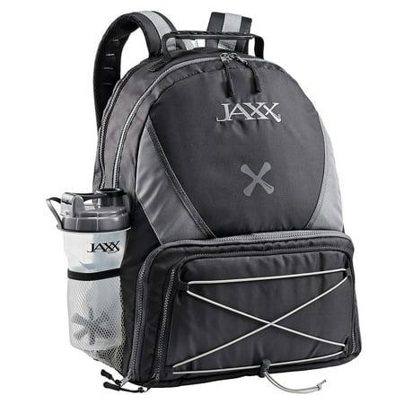 5ebf415aac3 Jaxx - Jaxx FitPak Meal Prep Backpack with Portion Control Container Set,  Black/Grey - Walmart.com