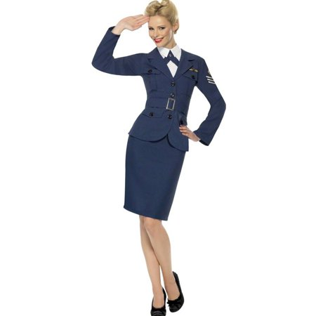 WW2 Air Force Female Captain Adult Costume for $<!---->
