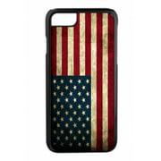 Grunge American Flag Design Black Rubber Case for the Apple iPhone 6 Plus / iPhone 6s Plus - Apple iPhone 6 Plus Accessories -iPhone 6s Plus Accessories