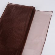 Chocolate - Wedding Organza Fabric Decor - ( W: 58 inch   L: 360 Inches )