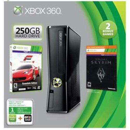 Xbox 360 250GB Value Bundle w/ Forza Motorsport 4 and Elder Scrolls V: Skyrim