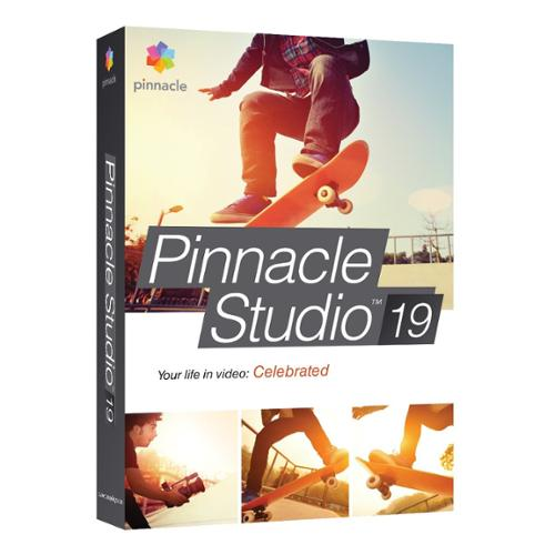 Pinnacle Studio V.19.0 Standard - Video Editing Box - Pc - Czech, Dutch, Danish, English, Finnish, French, German, Italian, Japanese, Polish, Russian, ... (pnst19stenam)