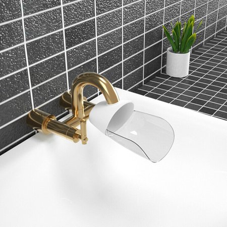 Duck Billed Faucet Extender Baby Sink Wash Hand Waterproof Splash Bathroom Products (Baby Washing Sink)
