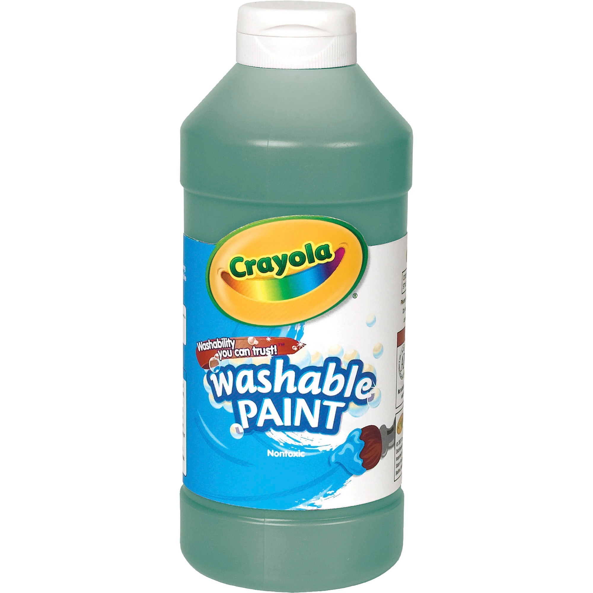 Crayola Red Washable Paint, 16 Ounce Squeeze Bottle