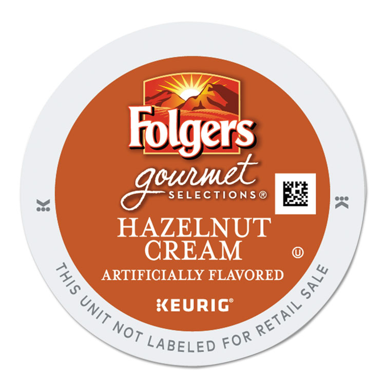 Folgers Gourmet Selections Hazelnut Cream Coffee K-Cups, 24/Box -GMT0162