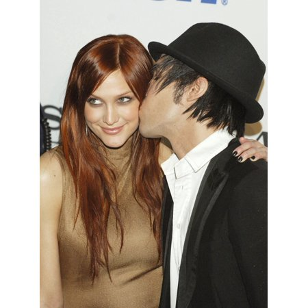 Ashlee Simpson Pete Wentz At Arrivals For Clive Davis Pre-Grammy Party Beverly Hilton Hotel Los Angeles Ca February 09 2008 Photo By Jared MilgrimEverett Collection