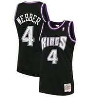Chris Webber Sacramento Kings Mitchell & Ness 2000-01 Hardwood Classics Swingman Jersey - Black
