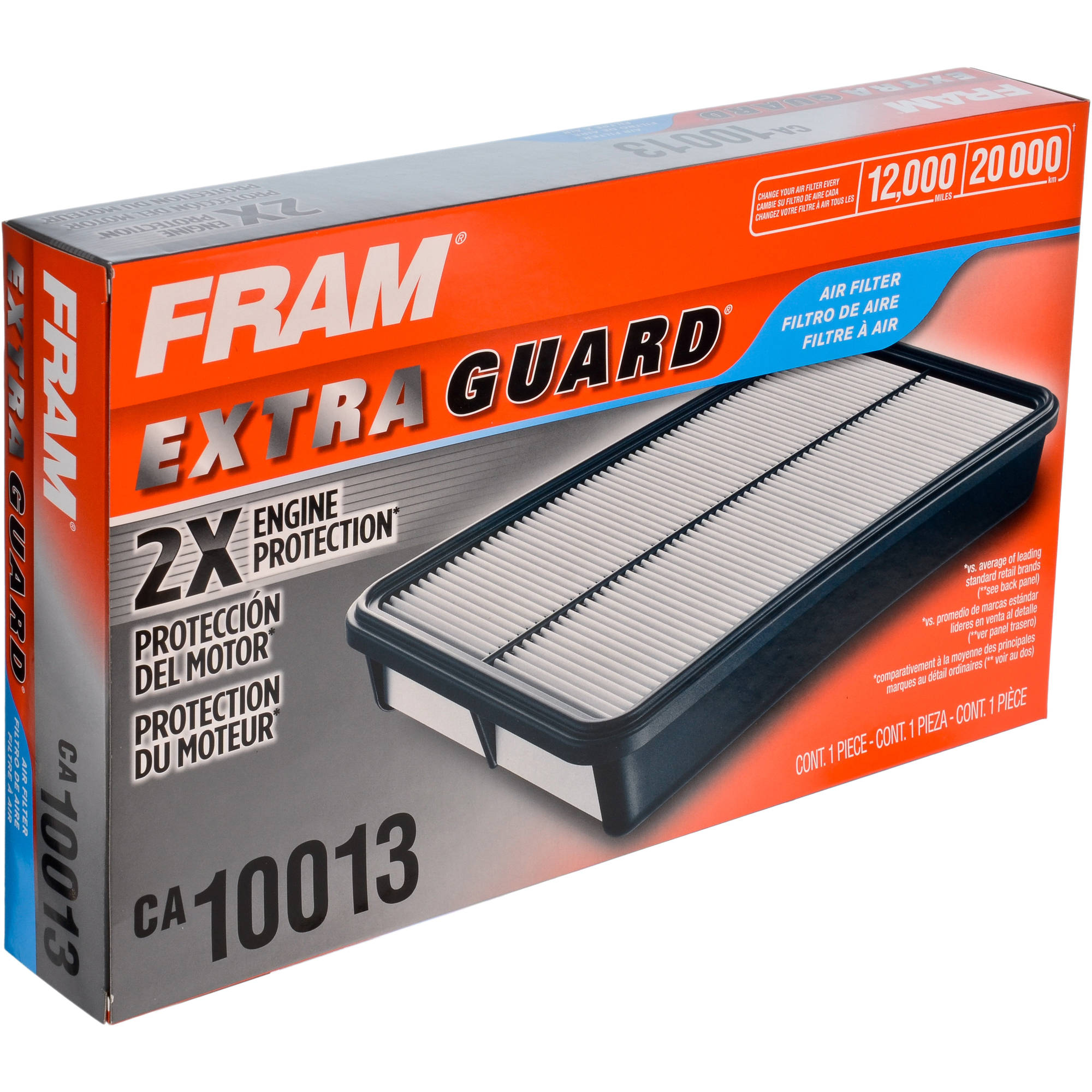 FRAM Extra Guard Air Filter, CA10013