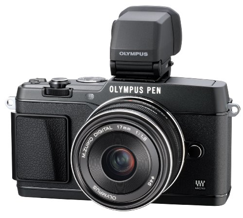 Olympus E-P5 17mm f1.8 and VF-4 16.1 MP Compact System Camera with 3-Inch LCD... by Olympus