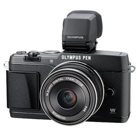 Olympus E P5 17Mm F1 8 And Vf 4 16 1 Mp Compact System Camera With 3 Inch Lcd