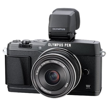 Olympus E-P5 17mm f1.8 and VF-4 16.1 MP Compact System Camera with 3-Inch LCD... Olympus Image Systems