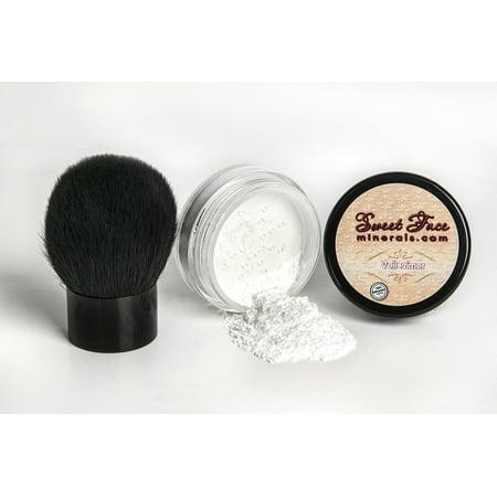 Mineral Control - VEIL PRIMER POWDER with KABUKI BRUSH Oil Control Corrector Mineral Makeup Bare Skin Concealer Sheer Loose Powder Full Coverage