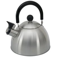 Copco 0-92002 1.3-Quart 5 Cup Whistling Brushed Tea Kettle