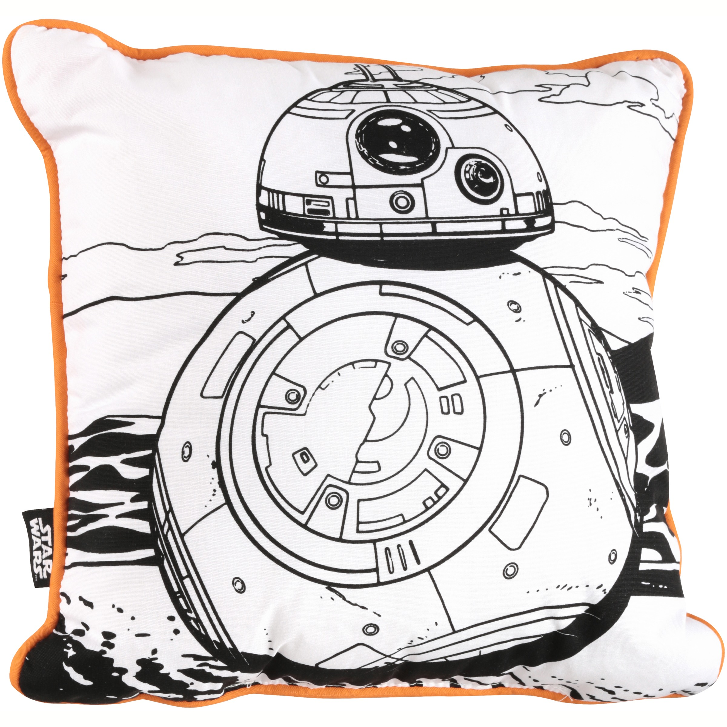 Star Wars Color Me Pillow Walmart Com