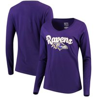 1fd952eef Product Image Baltimore Ravens NFL Pro Line by Fanatics Branded Women s  Free Hand Long Sleeve V-Neck
