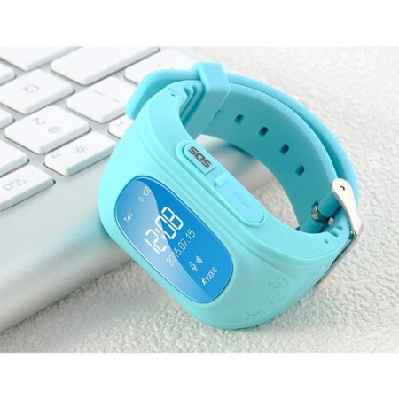 Anti Lost Kid Smart Gps Position Rubber Band Watch Q50 For Android For Ios
