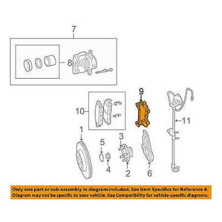 Peachy Chrysler Oem Brake Front Caliper Mount 5137613Ac Walmart Com Wiring Digital Resources Bemuashebarightsorg