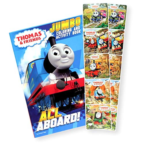 Thomas The Train Coloring Book With Thomas And Friends Stickers -  Walmart.com - Walmart.com