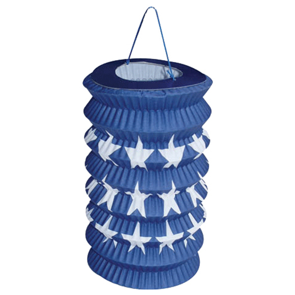 Anagram Stars on a Blue Lantern 3oz Balloon Weight, Blue