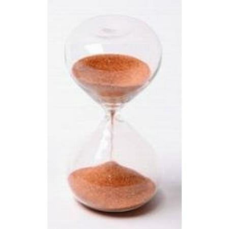 Sand Timer - Glass 5 Minute (30 Minute Sand Glass)