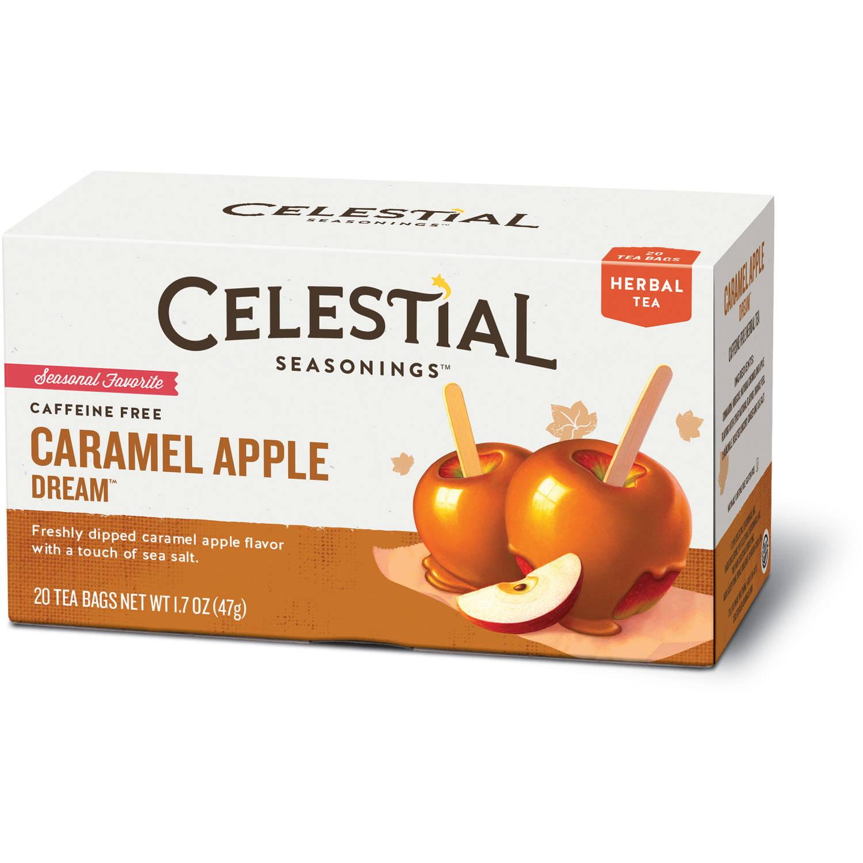 Celestial Seasonings Caramel Apple Dream Herbal Tea, 20 count, 1.7 oz