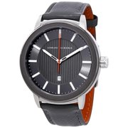 Armani Exchange  Men's AX1462 'Classic' Grey Leather Watch